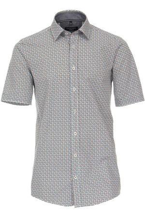 Casa Moda Casual Comfort Fit Overhemd Korte mouw veelkleurig, Motief