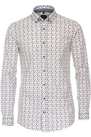 Venti Body Fit Overhemd / , Bloemen