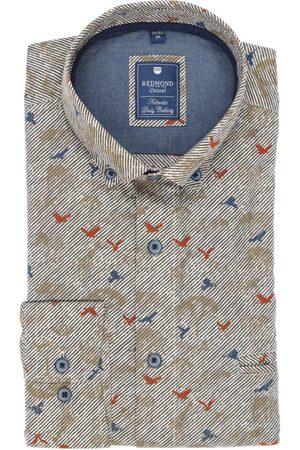 Redmond Casual Regular Fit Overhemd / , Motief