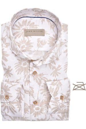 john miller Tailored Fit Overhemd , Motief