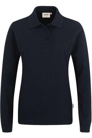 HAKRO Heren Poloshirts - 215 Regular Fit Dames poloshirt met lange mouwen , Effen