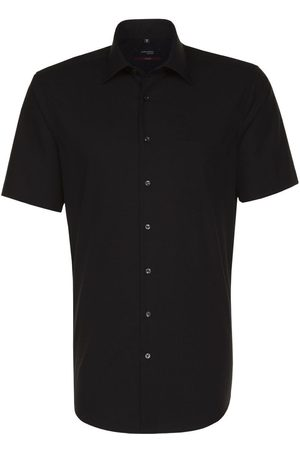 Seidensticker Modern Fit Overhemd Korte mouw , Effen