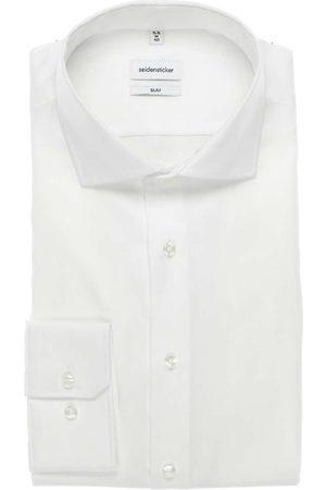 Seidensticker Slim Fit Overhemd , Effen