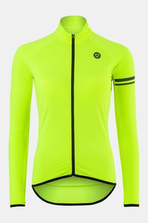 AGU Dames Tops - Jersey Ls Ess Thermo Hivis Neon Yellow wmn /