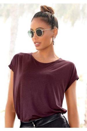 Lascana Shirt met korte mouwen in basic stijl