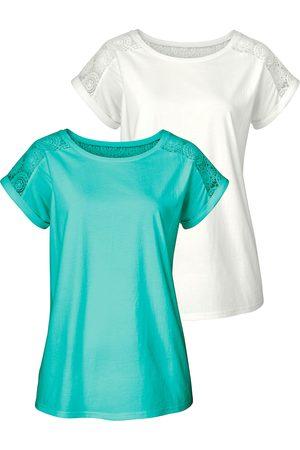 vivance collection Shirt (set van 2) met zachte kant