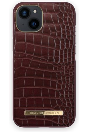 IDEAL OF SWEDEN Telefoon - Atelier Case iPhone 13 Scarlet Croco