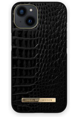 IDEAL OF SWEDEN Telefoon - Atelier Case iPhone 13 Neo Noir Croco