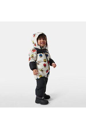 The North Face Sweaters - The North Face Nuptse-onesie Voor Baby's Tnfwtnptsbrprnt Größe 6-12 maanden Unisex
