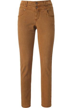 Angels Dames Skinny - Enkellange jeans model skinny button Van