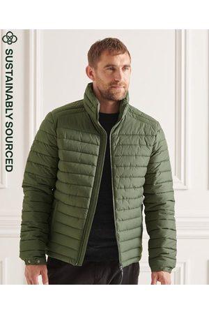 Superdry Heren Donsjassen & Gewatteerde jassen - Studios Fuji jas zonder capuchon