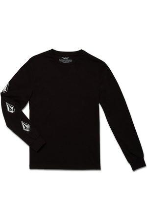 Volcom Jongens Lange mouw - Iconic Stone Basic Longsleeve T-Shirt