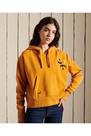 Superdry Dames Truien - Versierde wijdvallende Suka hoodie