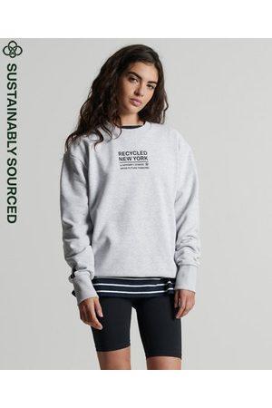 Superdry Dames Shirts - Studios Recycled City sweatshirt met ronde hals