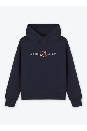 Tommy Hilfiger Dames Truien - Flower Embroidered Hoodie by