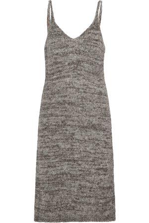 DRIES VAN NOTEN Alpaca-blend knit slip dress