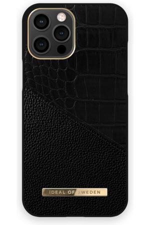 IDEAL OF SWEDEN Dames Telefoon - Atelier Case iPhone 12 Pro Max Nightfall Croco