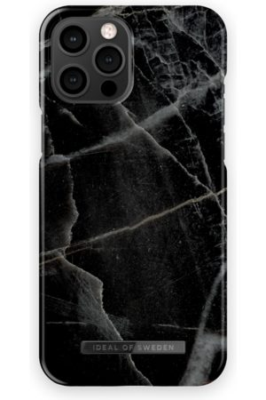 IDEAL OF SWEDEN Telefoon - Fashion Case iPhone 12 Pro Max Black Thunder Marble