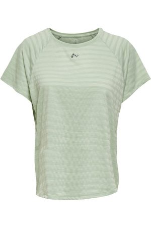 ONLY Dames Sportshirts - Loose Fit Sport T-shirt Dames Green