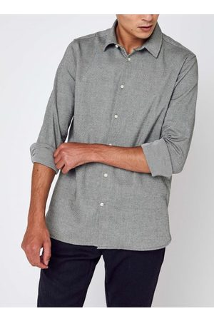 Knowledge Cotton Apparal LARCH casual fit heavy flannel shirt - GOTS/Vegan by