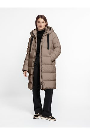 beaumont Dames Parka's - Puffer parka - Taupe 34