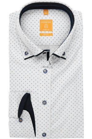 Redmond Heren Lange mouwen - Modern Fit Overhemd , Motief