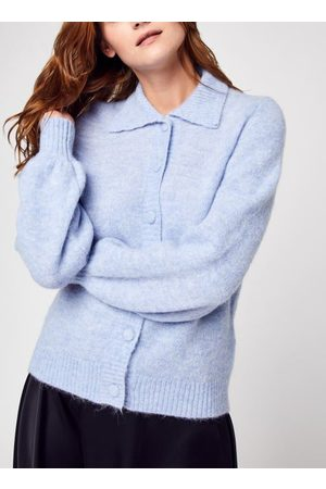SELECTED Slfsia-Louisa Ls Knit Polo Cardigan B by