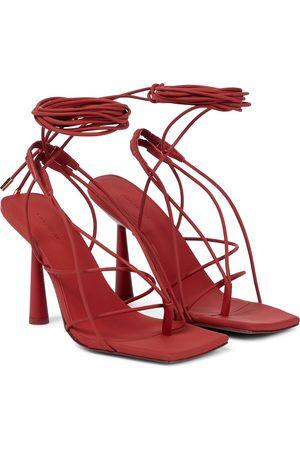 Gia Borghini Exclusive to Mytheresa – GIA/RHW Rosie 6 faux leather sandals