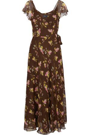 Polo Ralph Lauren Floral sleeve midi dress
