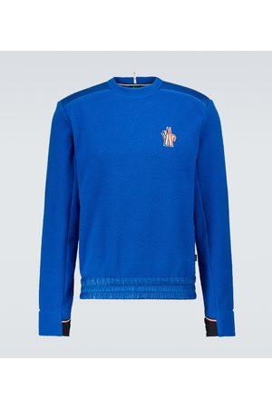 Moncler Fleece logo sweatshirt