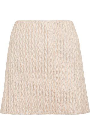 Miu Miu Padded miniskirt