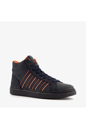 Groot Jongens Sneakers - Hoge leren jongens sneakers