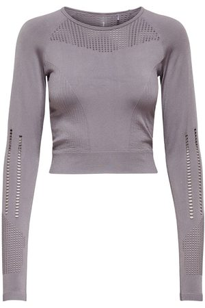 ONLY Naadloze Sporttop Dames Paars