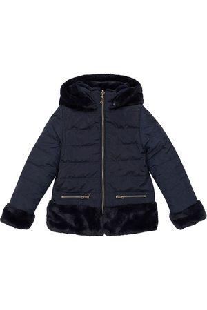 Tartine Et Chocolat Reversible faux-fur jacket