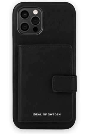 IDEAL OF SWEDEN Statement Case iPhone 12 Pro Max Intense Black - Card Pocket