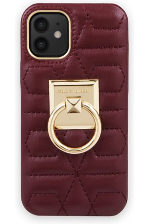 IDEAL OF SWEDEN Telefoon - Statement Case iPhone 12 Mini Quilted Ruby