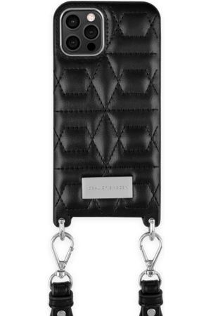 IDEAL OF SWEDEN Telefoon - Statement Necklace iPhone 12 Pro Quilted Black