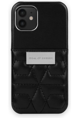 IDEAL OF SWEDEN Statement Case iPhone 12 Mini Quilted Black - Mini Pocket