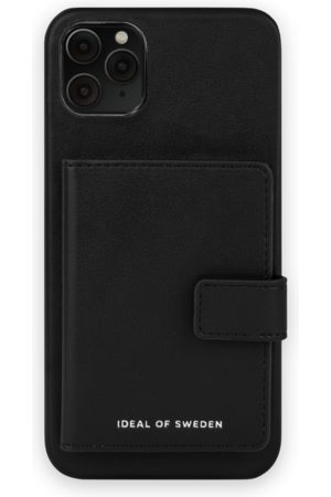 IDEAL OF SWEDEN Telefoon - Statement Case iPhone 11 Pro Max Intense Black - Card Pocket