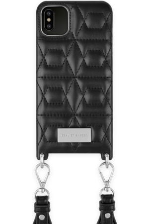 IDEAL OF SWEDEN Telefoon - Statement Necklace iPhone XS Max Quilted Black