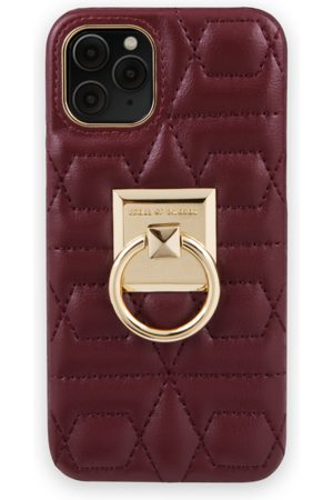 IDEAL OF SWEDEN Telefoon - Statement Case iPhone 11 Pro Quilted Ruby