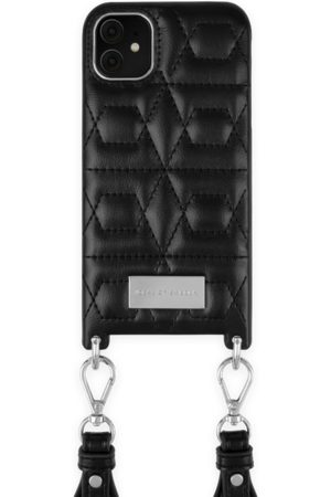 IDEAL OF SWEDEN Telefoon - Statement Necklace iPhone 11 Quilted Black