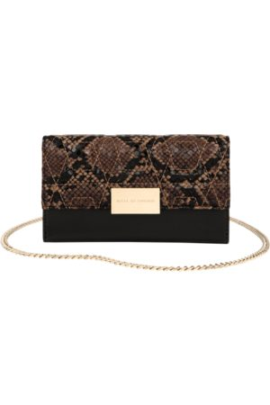 IDEAL OF SWEDEN Telefoon - Statement Clutch iPhone 11 Sunset Snake