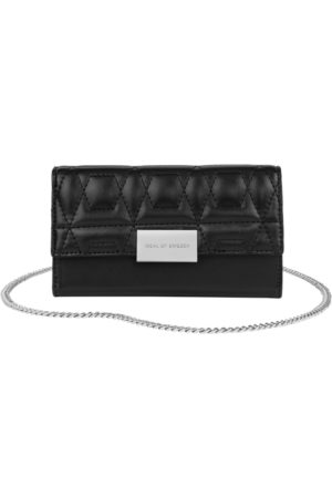 IDEAL OF SWEDEN Telefoon - Statement Clutch iPhone XR Quilted Black