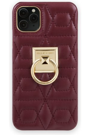 IDEAL OF SWEDEN Telefoon - Statement Case iPhone 11 Pro Max Quilted Ruby