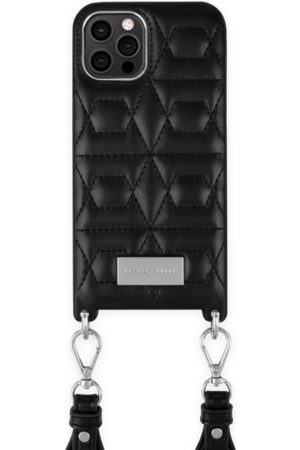 IDEAL OF SWEDEN Telefoon - Statement Necklace iPhone 12 Pro Max Quilted Black