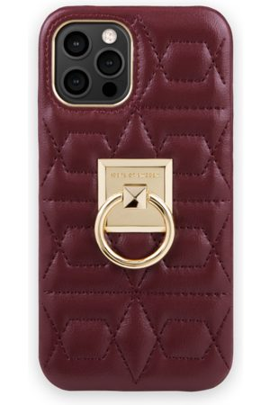 IDEAL OF SWEDEN Telefoon - Statement Case iPhone 12 Pro Max Quilted Ruby