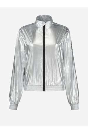 NIKKIE by Nikkie Plessen Zilveren metallic jas 32 / Silver