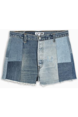 RE/DONE 70 patchwork shorts