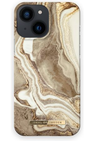IDEAL OF SWEDEN Telefoon - Fashion Case iPhone 13 Mini Golden Sand Marble